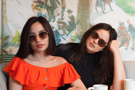 Sunnies Cafe - Interview with Martine Cajucom and Georgina Wilson