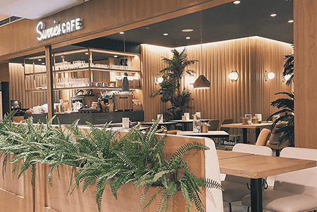 Sunnies Cafe - Exterior of SM Megamall Location