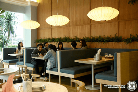 Sunnies Cafe - Interior of BGC Location